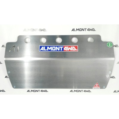 PROTECTOR FRONTAL DURALUMINIO 8mm ALMONT4WD JEEP WG 2002-2005