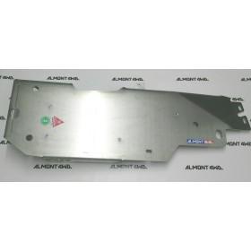 PROTECTOR  DEPÓSITO (2 PUERTAS) DURALUMINIO 6mm ALMONT4WD JEEP WRANGLER JK