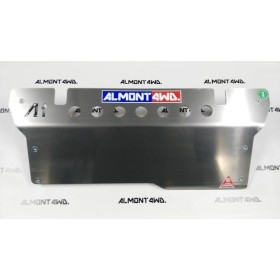 PROTECTOR FRONTAL (PARAGOLPES SMITTY BILT) DURALUMINIO 8mm ALMONT4WD JEEP WRANGLER JK