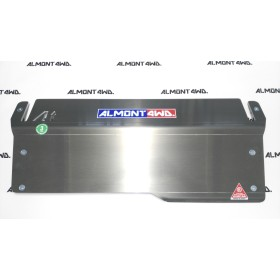 PROTECTOR FRONTAL (PARAGOLPES AEV) DURALUMINIO 8mm ALMONT4WD JEEP WRANGLER JK