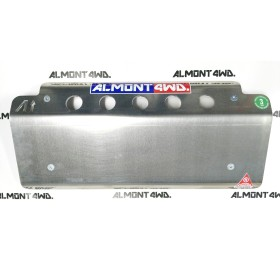 PROTECTOR FRONTAL DURALUMINIO 8mm ALMONT4WD LAND ROVER DISCOVERY I
