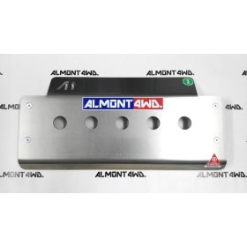PROTECTOR FRONTAL DURALUMINIO 8mm ALMONT4WD LAND ROVER DISCOVERY II