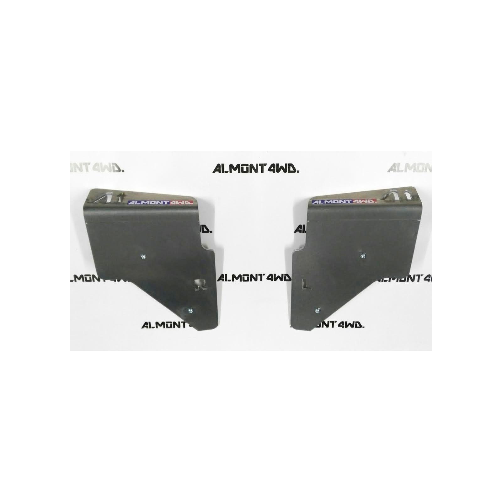 PROTECTORES SUSPENSIÓN DELANTERA DURALUMINIO 6mm ALMONT4WD LAND ROVER DISCOVERY III