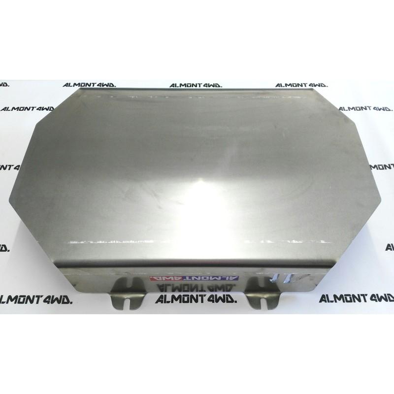 PROTECTOR DEPÓSITO (MONTERO CORTO) DURALUMINIO 6mm ALMONT4WD MITSUBISHI MONTERO V20