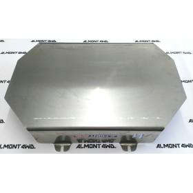 PROTECTOR DEPÓSITO (MONTERO LARGO)DURALUMINIO 6mm ALMONT4WD MITSUBISHI MONTERO V20