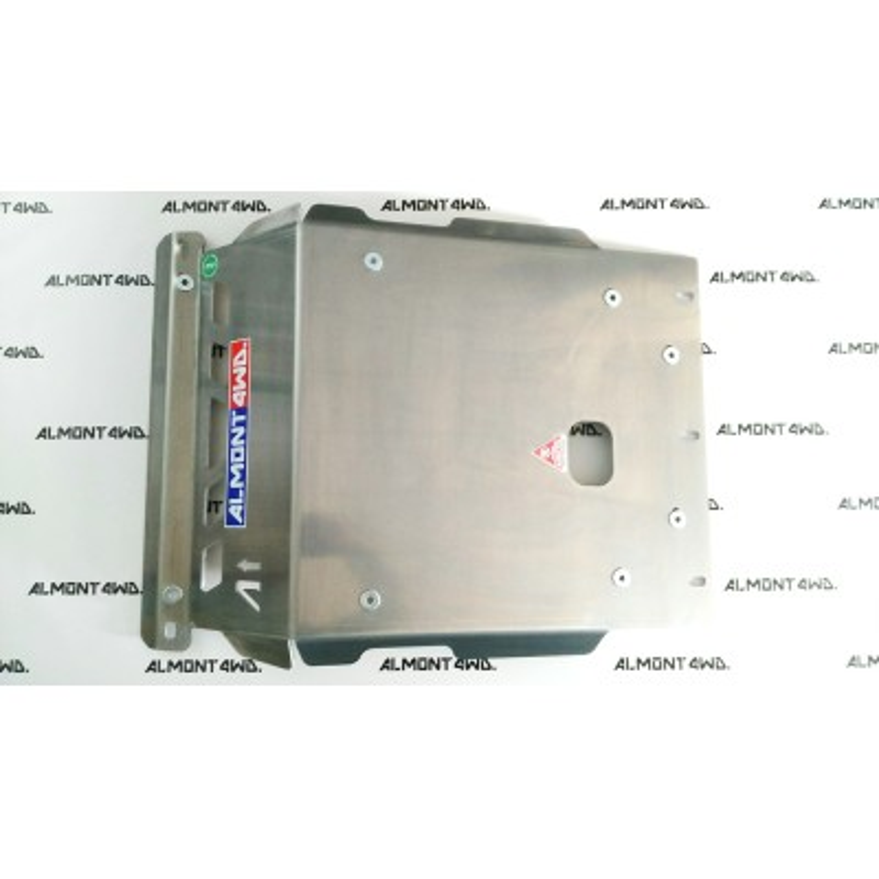 PROTECTOR FRONTAL RADIADOR DURALUMINIO 6mm ALMONT4WD MITSUBISHI MONTERO V60