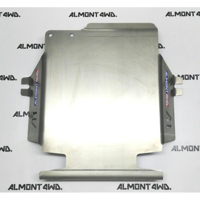 PROTECTOR DIFERENCIAL TRASERO DURALUMINIO 6mm ALMONT4WD MITSUBISHI MONTERO V80