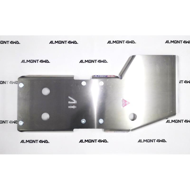 PROTECTOR CAJA Y TRANSFER DURALUMINIO 6mm ALMONT4WD MITSUBISHI L200 ML-MN