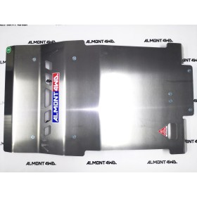 PROTECTOR FRONTAL DURALUMINIO 8mm ALMONT4WD MITSUBISHI L200 2015-2021