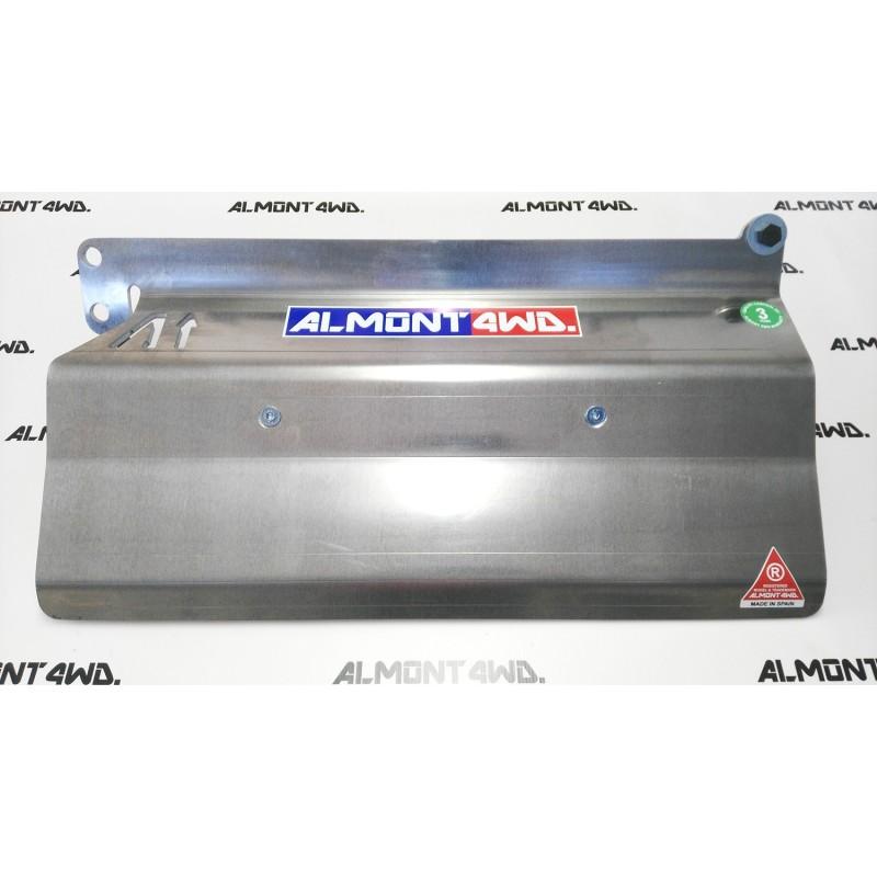PROTECTOR FRONTAL (PARAGOLPES ARB) DURALUMINIO 8mm ALMONT4WD NISSAN PATROL Y61 1998-2002