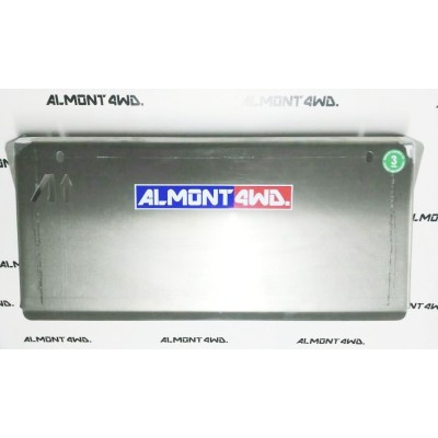 PROTECTOR FRONTAL DURALUMINIO 6mm ALMONT4WD NISSAN PATHFINDER R51