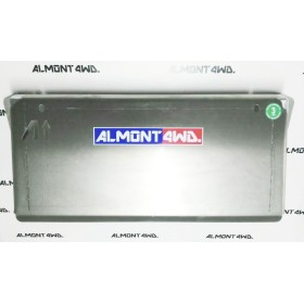 PROTECTOR FRONTAL DURALUMINIO 6mm ALMONT4WD NISSAN NAVARA D40