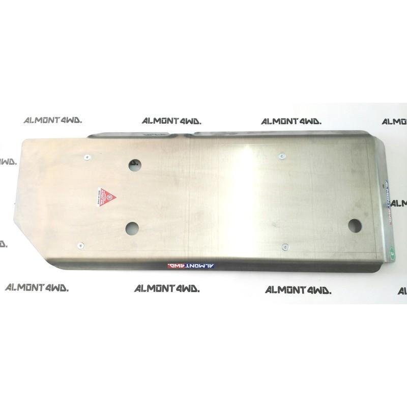 PROTECTOR DEPÓSITO + ADBLUE DURALUMINIO 6mm ALMONT4WD NISSAN NAVARA D23