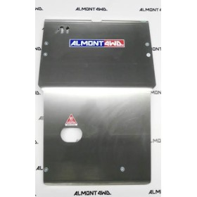 PROTECTOR FRONTAL (PARAGOLPES AFN) DURALUMINIO 8mm ALMONT4WD NISSAN TERRANO II