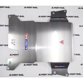 PROTECTOR CAJA Y TRANSFER DURALUMINIO 8mm ALMONT4WD TOYOTA LAND CRUISER 80