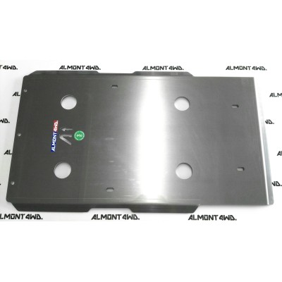 PROTECTOR DIFERENCIAL TRASERO DURALUMINIO 8mm ALMONT4WD TOYOTA LAND CRUISER 90
