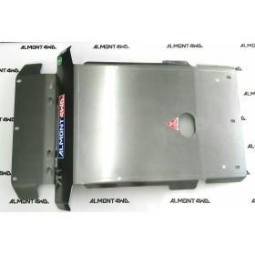 PROTECTOR FRONTAL (SIN KDSS - PARAGOLPES ORIGINAL) DURALUMINIO 8mm ALMONT4WD TOYOTA LAND CRUISER 150