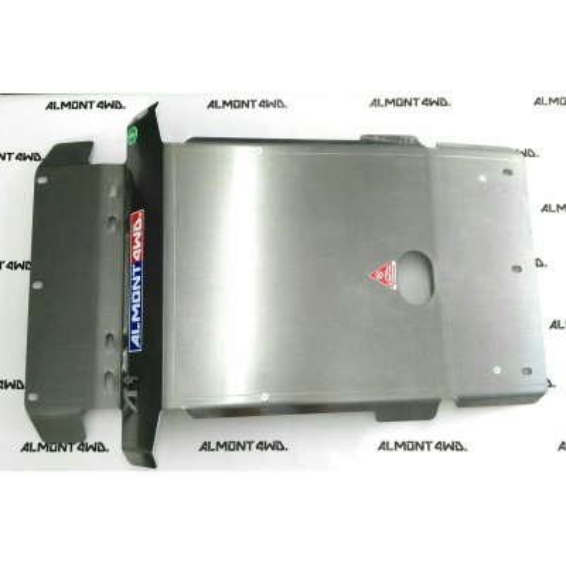 PROTECTOR FRONTAL (KDSS - PARAGOLPES ORIGINAL) DURALUMINIO 6mm ALMONT4WD TOYOTA LAND CRUISER 180
