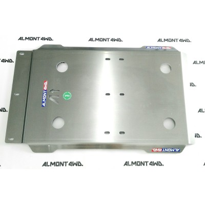 PROTECTOR CAJA Y TRANSFER DURALUMINIO 8mm ALMONT4WD TOYOTA LAND CRUISER 180