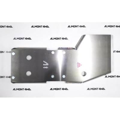 PROTECTOR CAJA Y TRANSFER DURALUMINIO 8mm ALMONT4WD TOYOTA LAND CRUISER 200