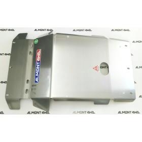 PROTECTOR FRONTAL (PARAGOLPES ASFIR) DURALUMINIO 8mm ALMONT4WD TOYOTA FJ CRUISER