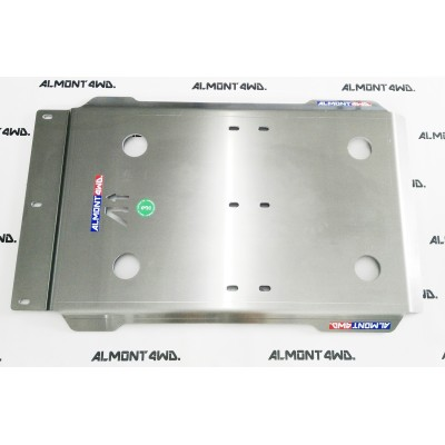 PROTECTOR CAJA Y TRANSFER DURALUMINIO 8mm ALMONT4WD TOYOTA 4RUNNER