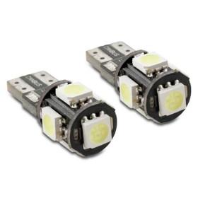 2 x BOMBILLA POSICIÓN 5 LED CAN-BUS BLANCA