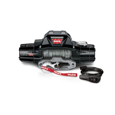 WINCH WARN ZEON 12 S / 12 V 5.443kg CABLE SINTÉTICO