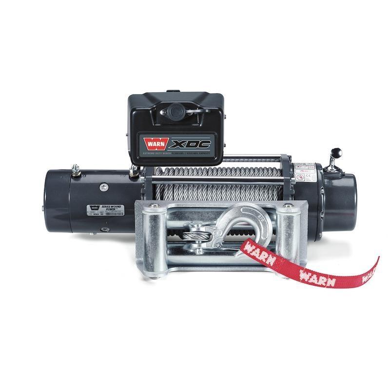 WINCH WARN XDC-9,5 / 12 V 4.310kg CABLE DE ACERO